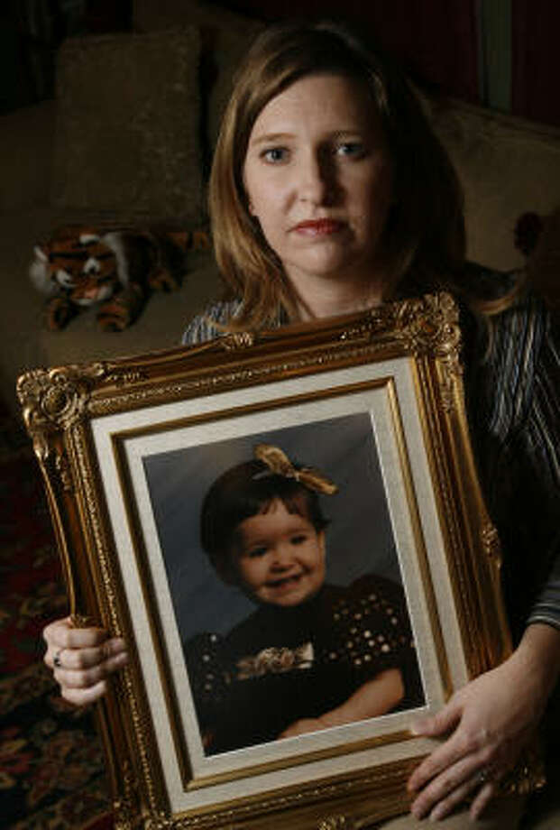 It has been 14 years since Deana Hebert watched her ex-husband walk away with their then-18-month-old daughter, Bianca, for a weekend visit — never to return. Photo: Julio Cortez, Chronicle