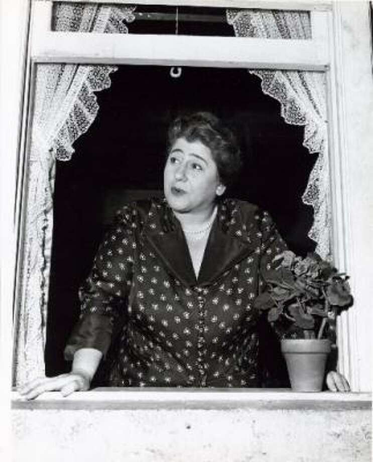 Actress Gertrude Berg played Jewish mom Molly Goldberg in radio and TV program The Goldbergs. Photo: FILE PHOTO