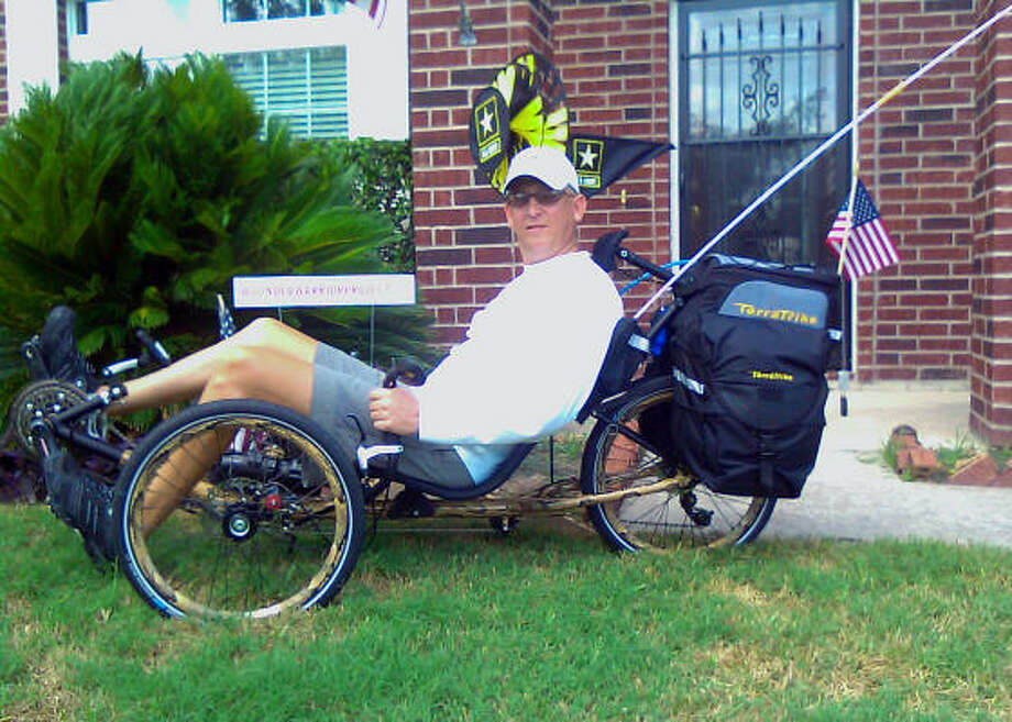 READY TO GO: Jack Compton will kick off his ride on Tuesday. Photo: Wendy Rudnicki, For The Chronicle