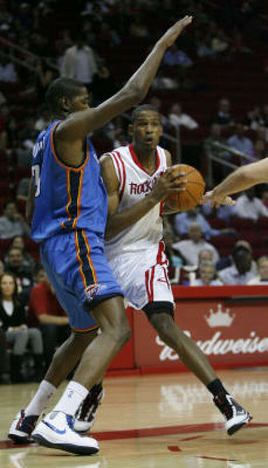 Trevor Ariza scored 16 points in a game the Rockets considered a tune-up for the regular season. Photo: Karen Warren, Chronicle