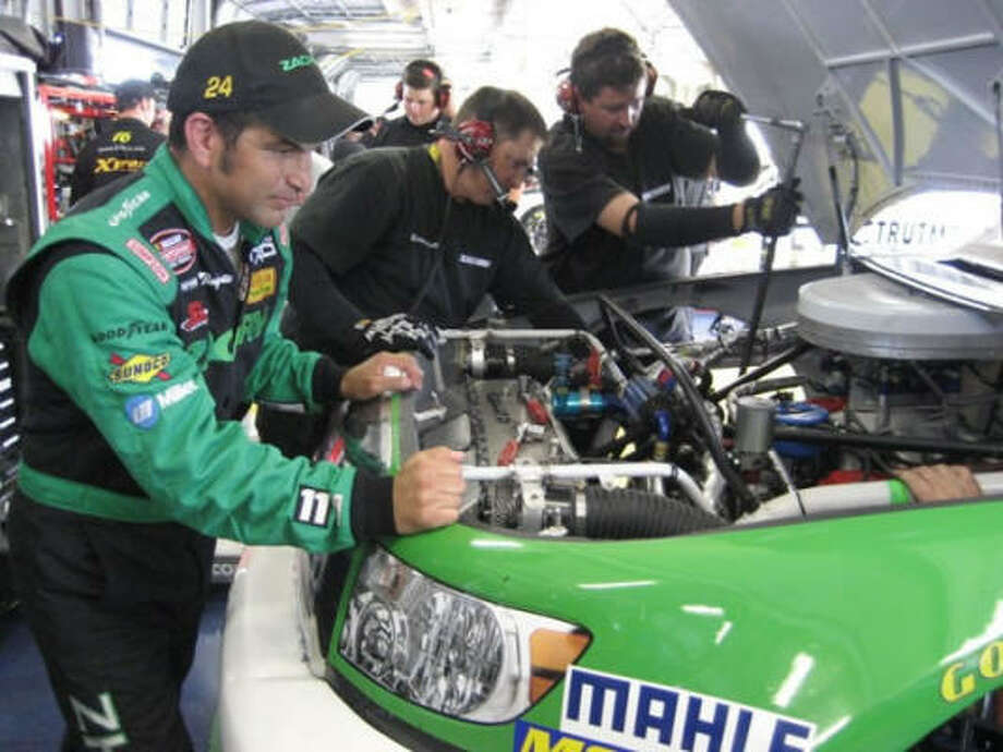 Despite no wins, David Starr finished ninth in the NASCAR Camping World Truck Series points standings. Photo: HT Motorsports