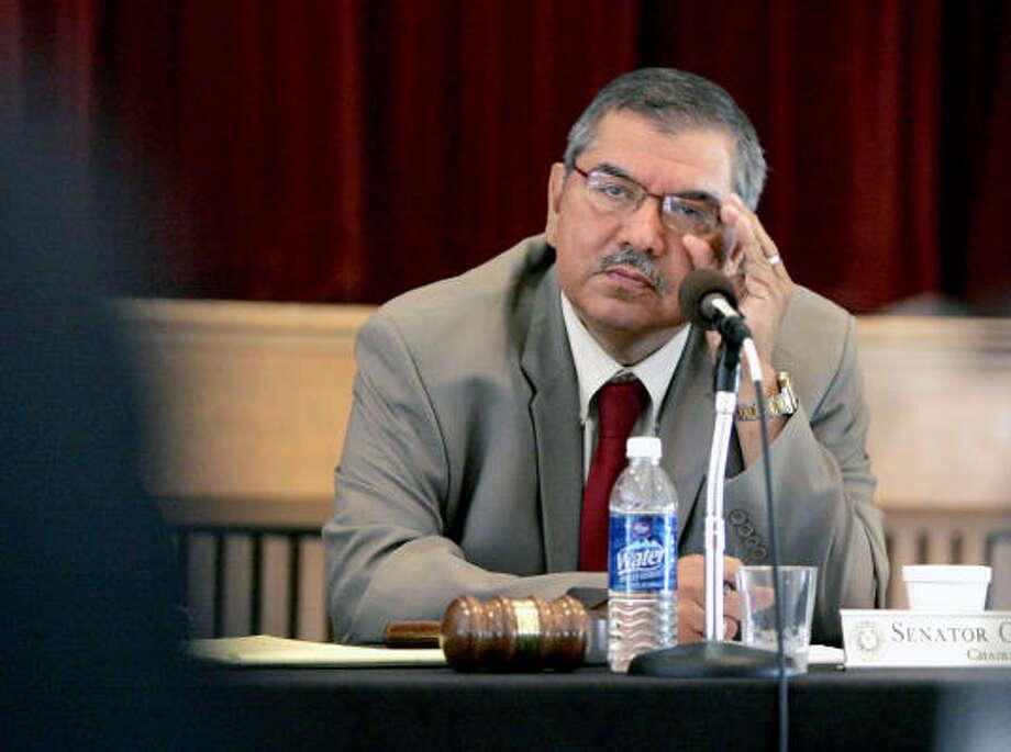 Sen. Mario Gallegos Photo: Pat Sullivan, AP