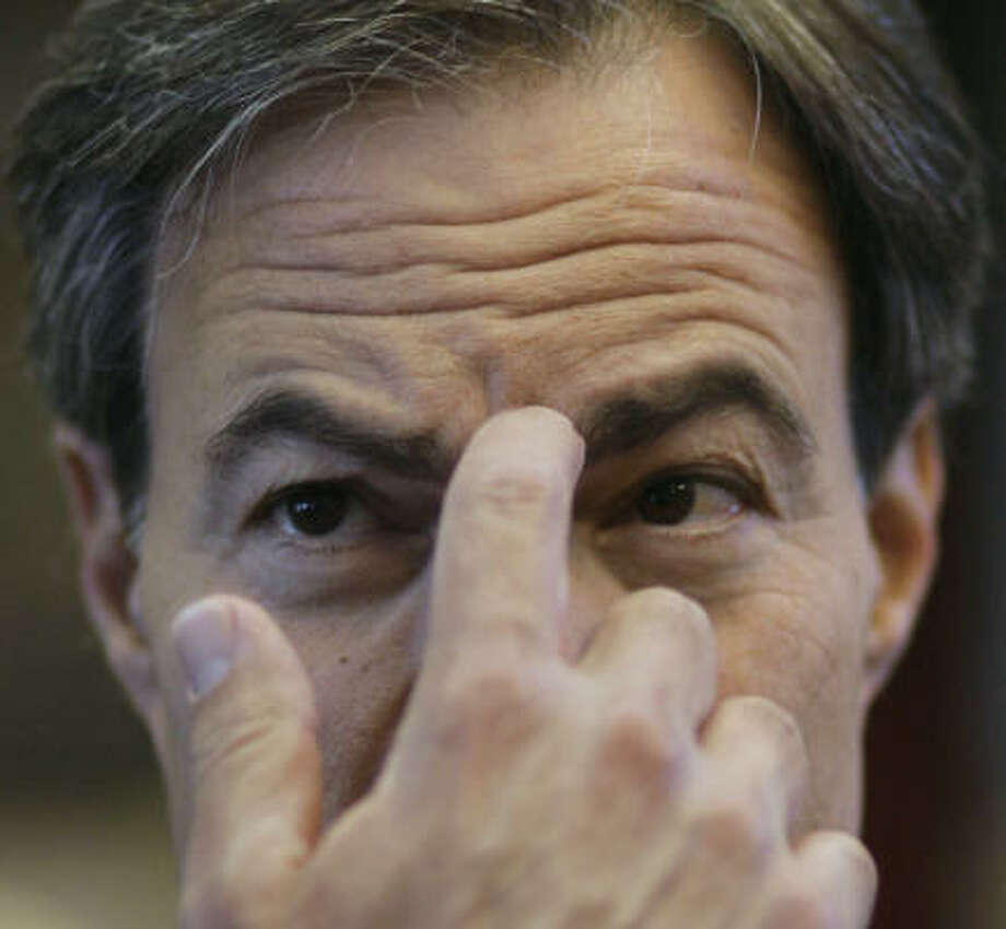 Republican Joe Straus has an itch he needs to scratch: a desire to communicate better with other members of the House. Photo: Harry Cabluck, AP