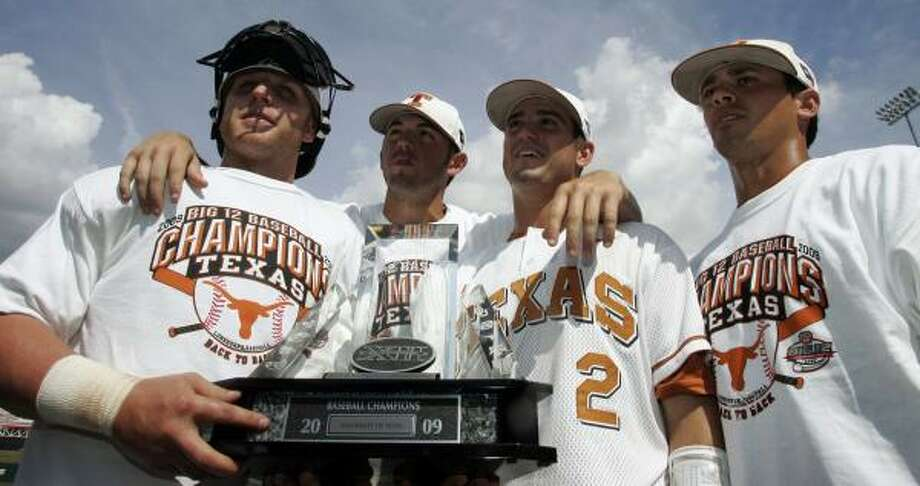 UT is one of a record eight Big 12 schools in the NCAA postseason, including surprising entrants Baylor and Oklahoma State. Photo: AP