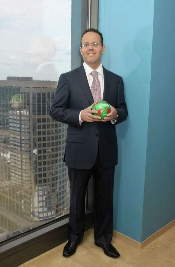(For the Chronicle/Gary Fountain, July 8,  2011) Steve Selsberg, a partner in Mayer Brown's Houston office. Selsberg believes the Houston business market is going to see an influx of cross-border lawsuits as more and more wealthy Mexican businessmen flee the violence in their nation and set up homes for their families in the Houston area. Photo: Gary Fountain, Freelance / Copyright 2011 Gary Fountain Telephone:  281-531-0260