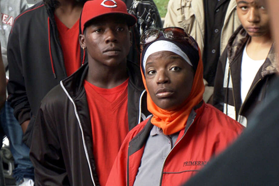"A scene from ""The Interrupters."""