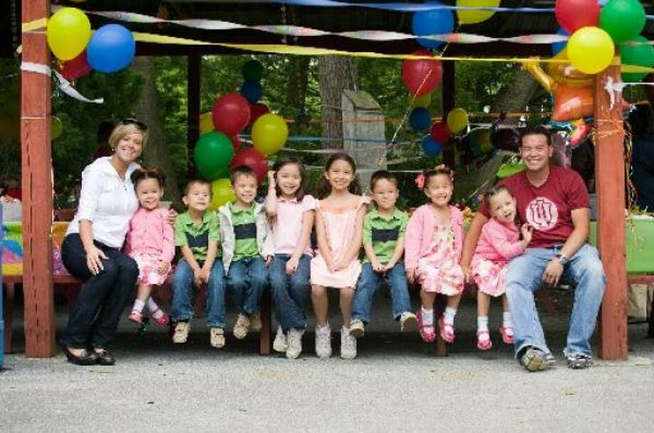 "June 22: The episode of Jon and Kate Plus Eight in which Jon and Kate announce their separation becomes the most-watched episode of the series. For the next five months, America is held hostage by the feuding couple until the series' end in November. Let us all hope, for the ""eight's"" sake if not our own, that Jon and Kate now go away for a long long time. Photo: TLC"