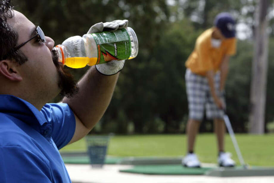 U.S.: Gatorade. It'll help you re-hydrate. Photo: Eric Kayne, Houston Chronicle