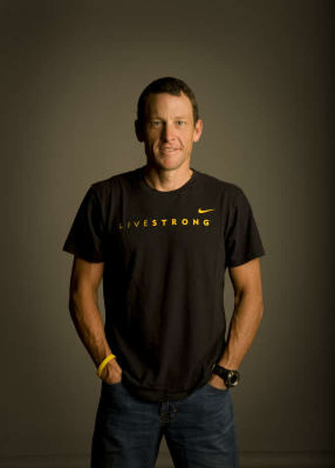 Lance Armstrong, cyclist and cancer awareness advocate: A superhero of the cycling world, Lance Armstrong has won numerous titles, most notably the Tour de France, six times over. A cancer survivor, he works tirelessly to promote cancer awareness and prevention. Most recently he's lobbied legislatures to institute bans on second-hand smoke.  Only those competing at an elite athlete level could follow Armstrong's regimen, but he urges everyone to maintain an active lifestyle with either active hobbies or old-fashioned exercise, healthy foods and being self-aware of your body. When the doc says get a cancer screening, Armstrong says: don't hesitate. Photo: Robert Seale, For The Chronicle