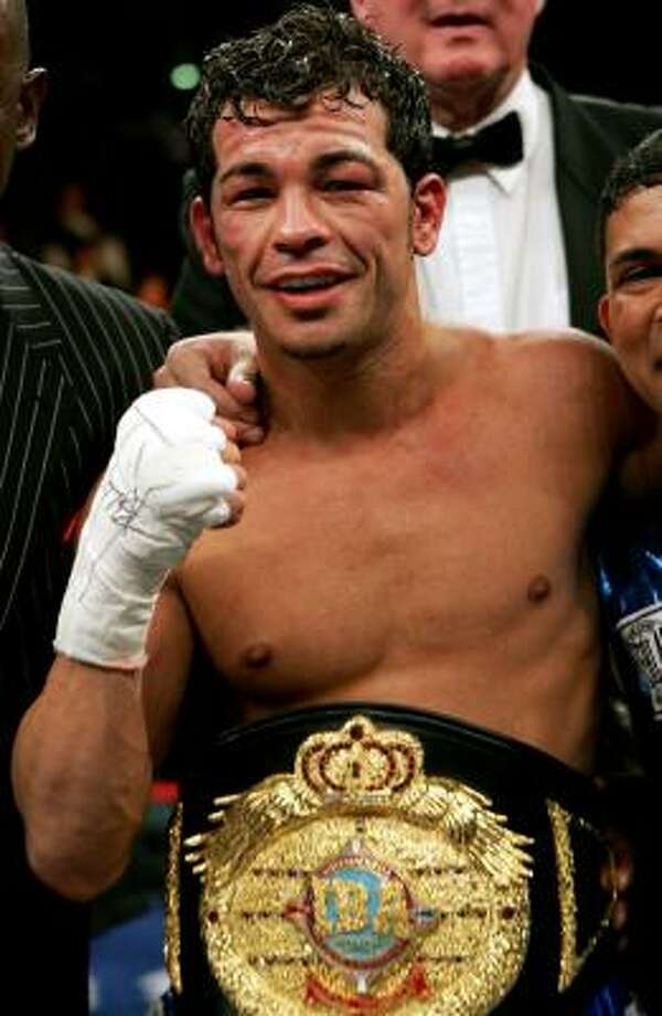 Arturo Gatti was found dead July 11, 2009, from a gunshot wound at his home in Brazil. His wife, who was home at the time, was an early suspect in the death, but it was later ruled to be self-inflicted.  Photo: MEL EVANS, AP