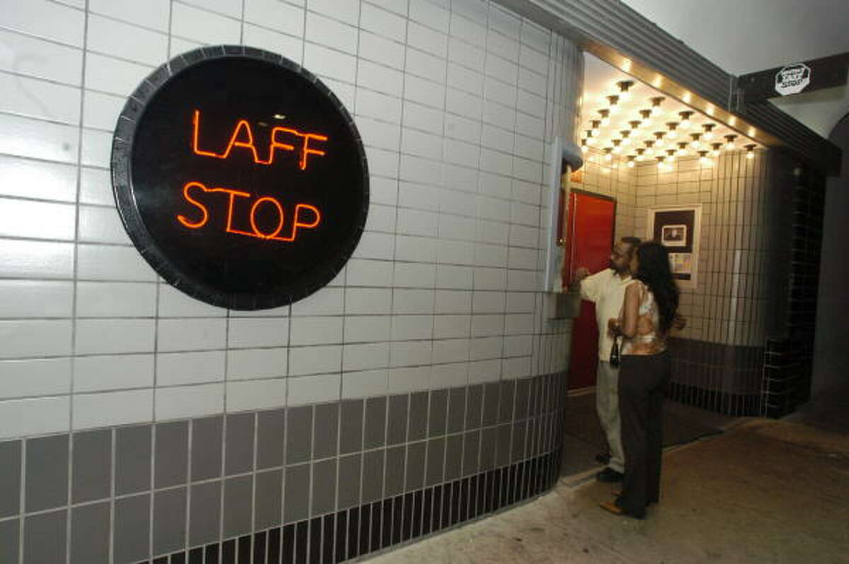 Laff Stop at 1952 A West Gray was the home club for many Houston comedians.