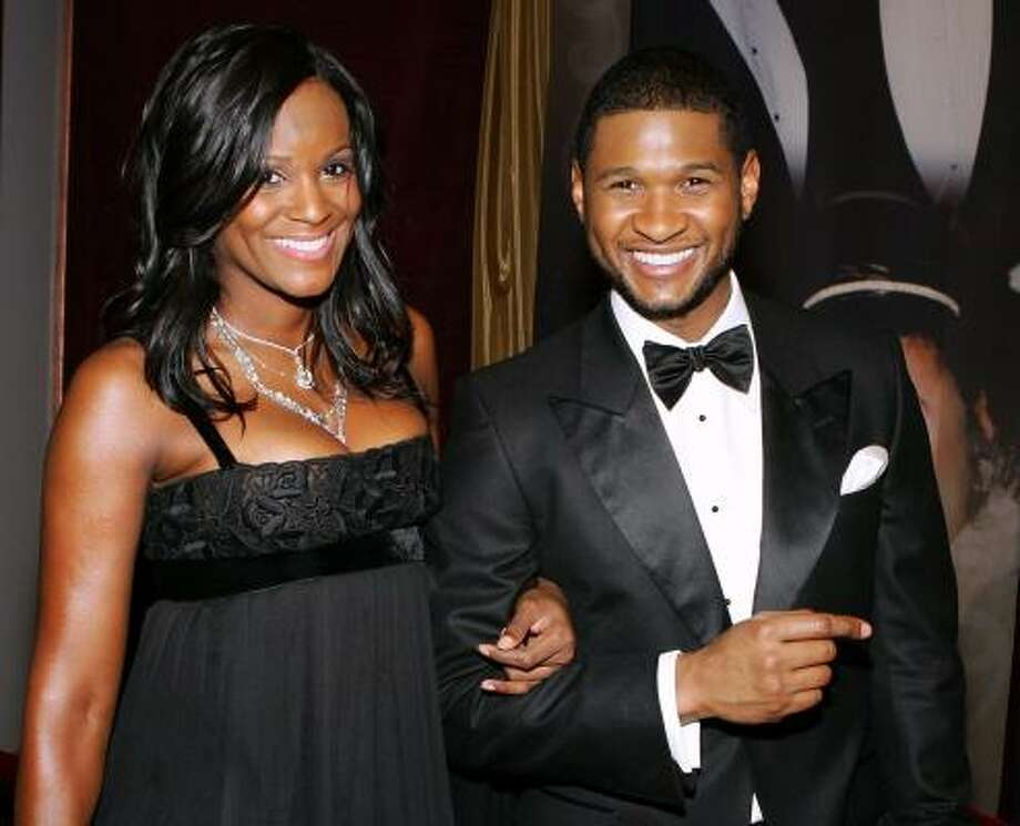 Usher and Tameka - They were ony married for 2 years, but very few people were surprised when these two called it quits. It seems they had a turbulent relationship right from the start. Photo: Ethan Miller, Getty Images