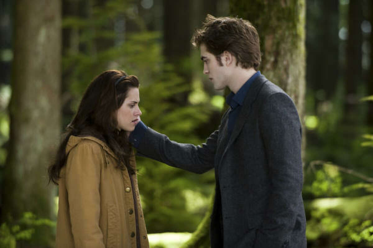 New Moon , $xx million After Bella recovers from the vampire attack that almost claimed her life, she looks to celebrate her birthday with Edward and his family. However, a minor accident during the festivities results in Bella's blood being shed, a sight that proves too intense for the Cullens, who decide to leave the town of Forks, Wash., for Bella and Edwards sake.