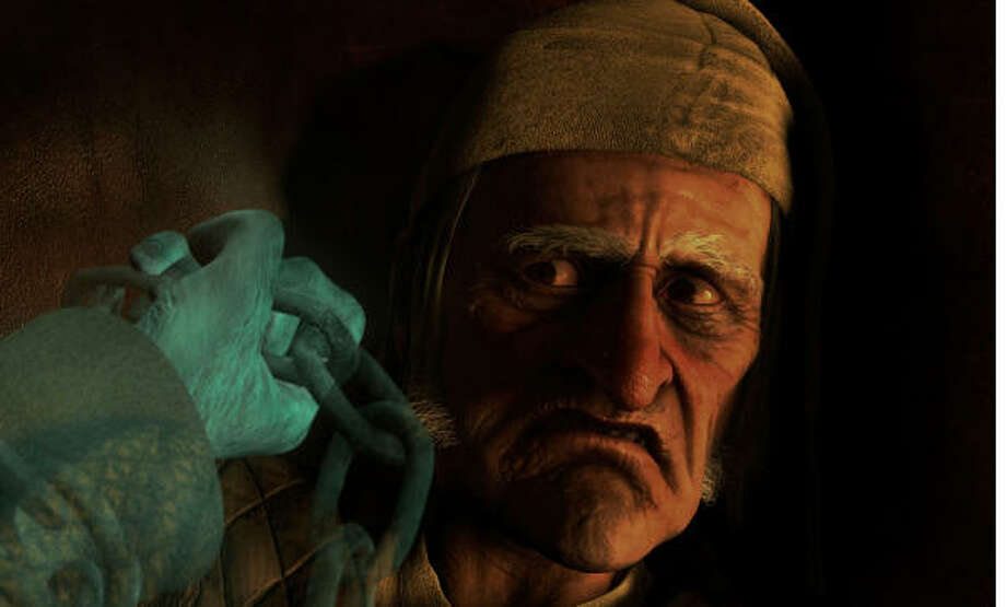 A Christmas Carol, $xx million An animated retelling of Charles Dickens classic novel about a Victorian-era miser taken on a journey of self-redemption courtesy of several mysterious Christmas apparitions. Photo: ImageMovers Digital LLC., AP