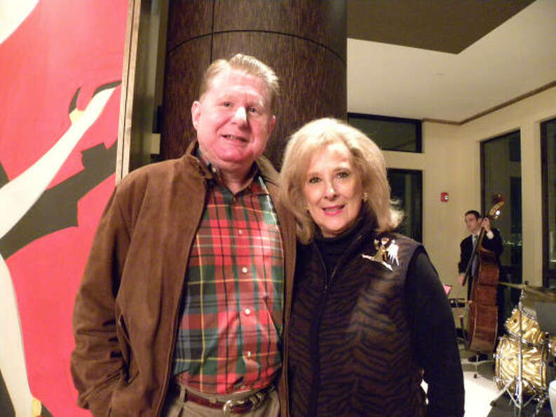 Tom Becker and Mary Ann McKeithan, co-vice presidents of special events, at the Partnership for Bayl