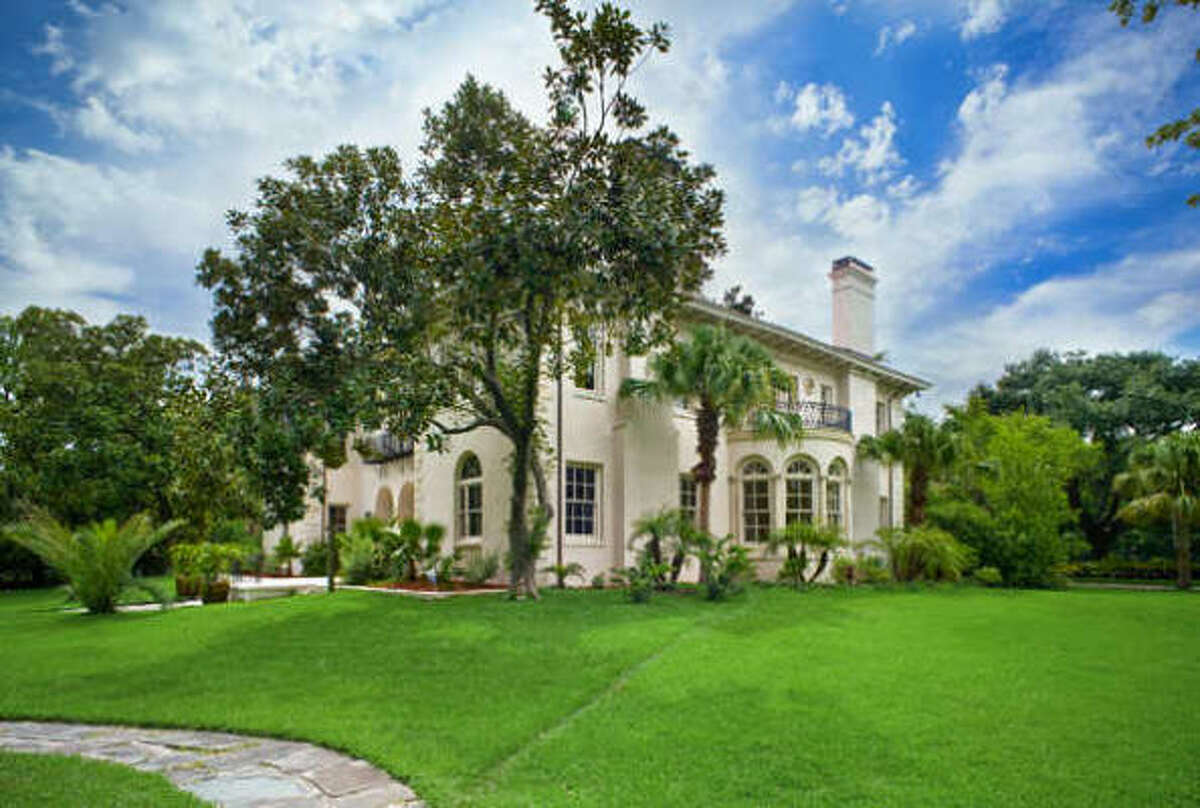 1 Longfellow Lane, Houston This home was originally listed for $8.39 million, but the price has been cut by more than $790,000. The asking price is now $7.6 million.
