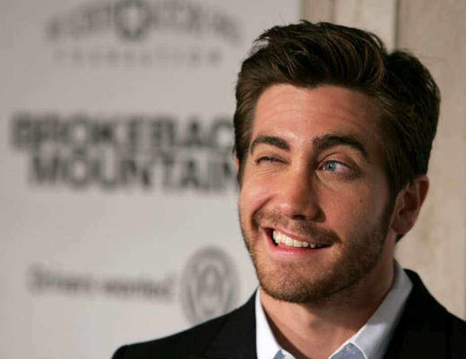 At least Jake Gyllenhaal could grow facial hair.  Photo: Frazer Harrison, Getty Images