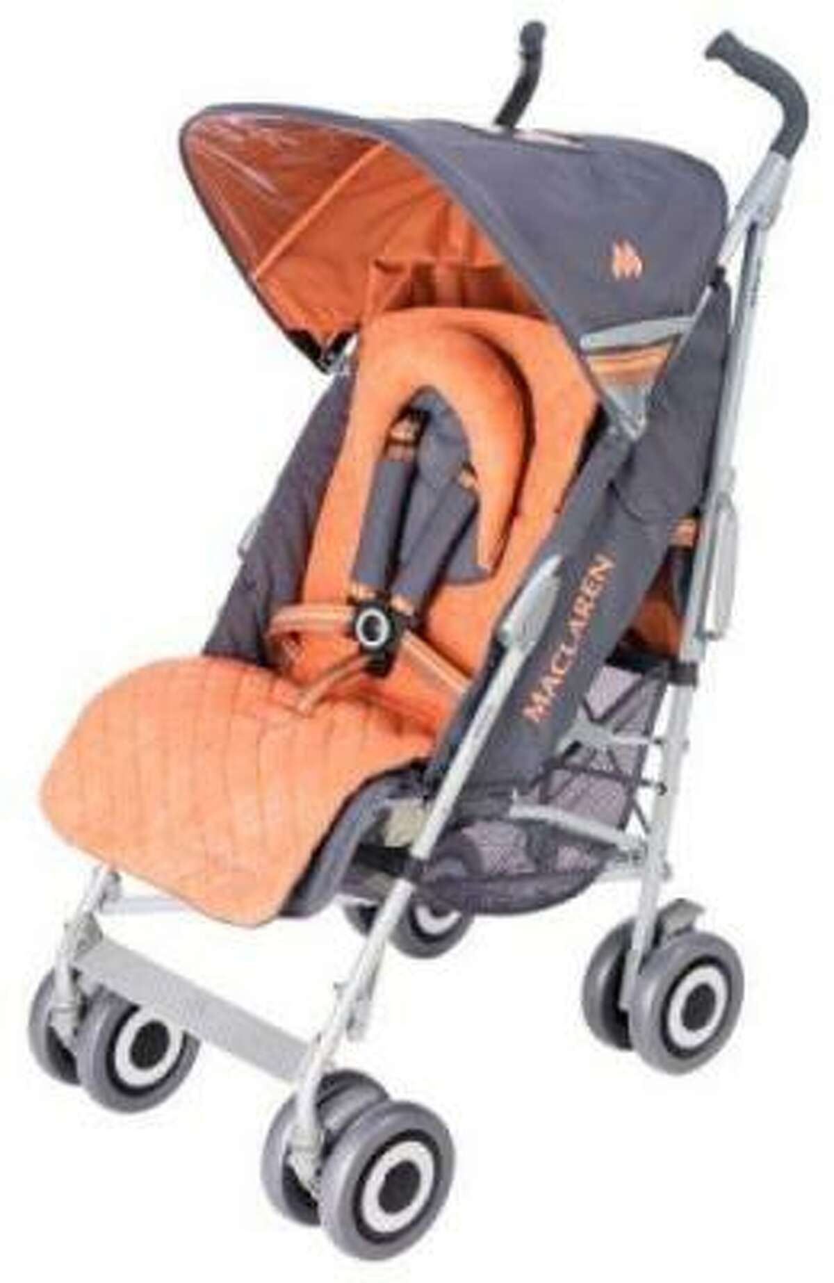 Name of Product: Maclaren Strollers Hazard: The stroller's hinge mechanism poses a fingertip amputation and laceration hazard to the child when the consumer is unfolding/opening the stroller.Description: This recall involves all Maclaren single and double umbrella strollers. The word
