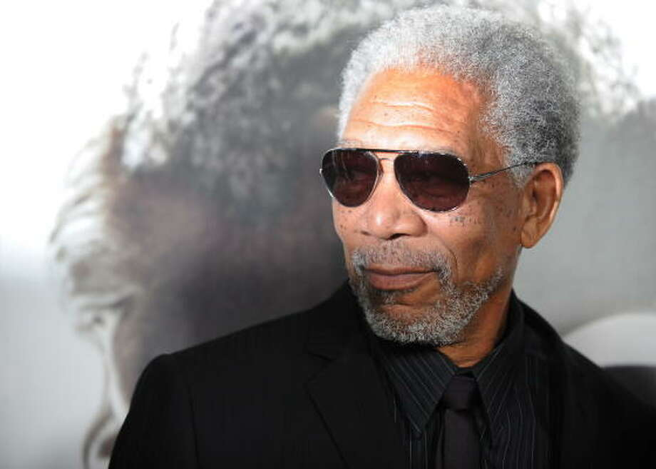 Best Actor: Morgan Freeman in Invictus Photo: GABRIEL BOUYS, AFP/Getty Images
