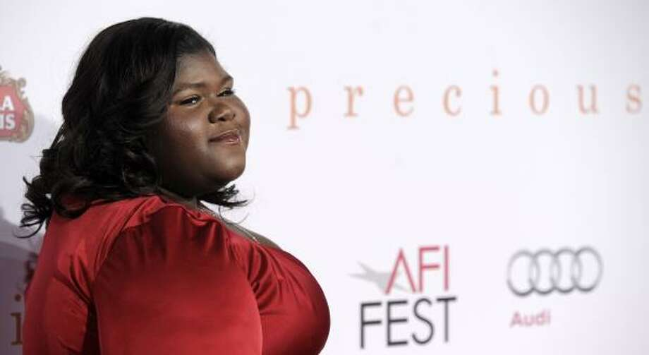 Best Actress: Gabourey Sidibe in Precious Photo: Chris Pizzello, AP