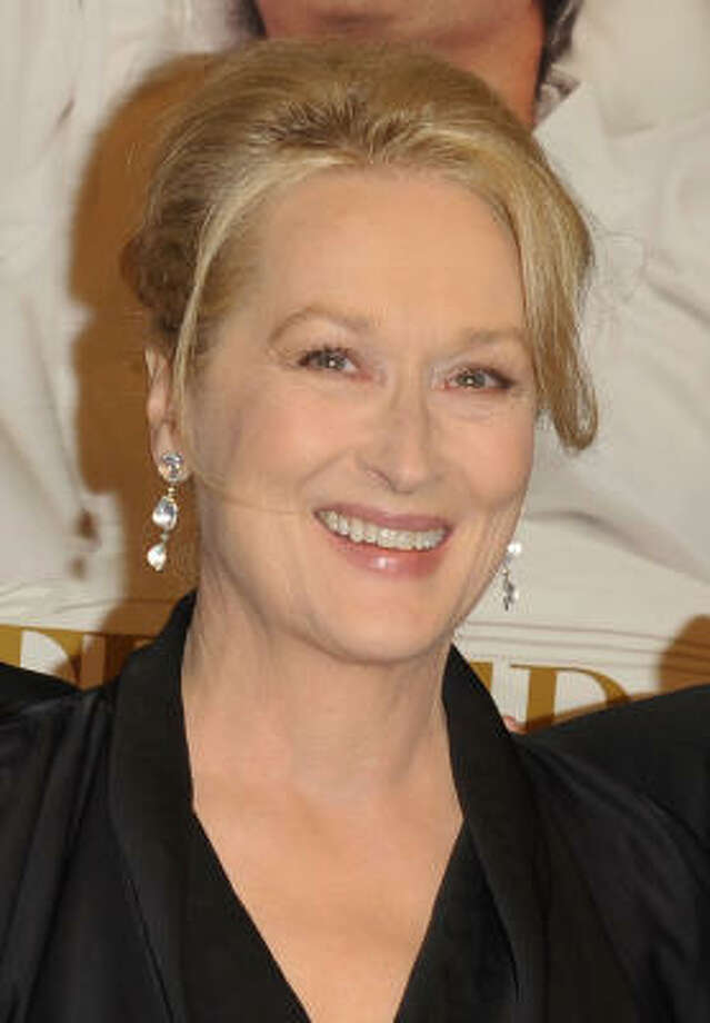 Best Actress: Meryl Streep Julie & Julia Photo: Stephen Lovekin, Getty Images