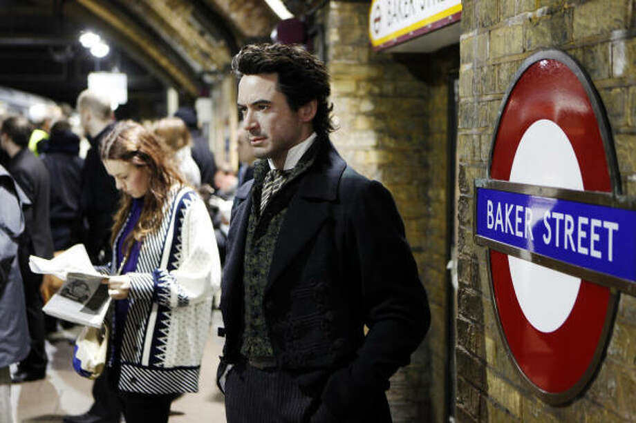 Best Actor/Musical or Comedy: Robert Downey Jr. in Sherlock Holmes Photo: David Parry, AP