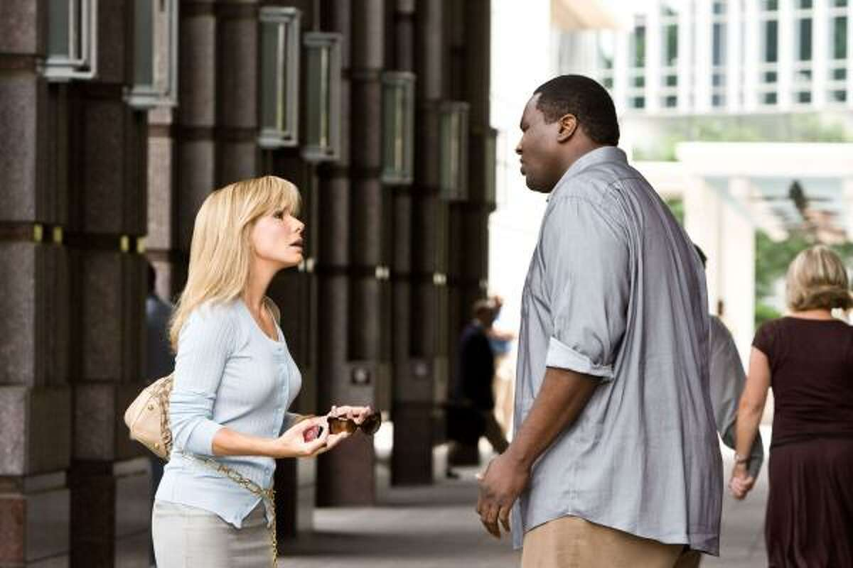 The Blind Side , $xxx million A poor, oversized and under-educated teenager is recruited by a major college football program where he is groomed into an athletically and academically successful NFL prospect.