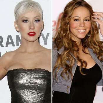 Christina Aguilera vs. Mariah Carey: Aguilera claimed Mariah made some derogatory comments about her at a party, and insinuated her behavior could've been due to the over-medication of Mimi. Mariah claimed Christina crashed her party and displayed questionable behavior.