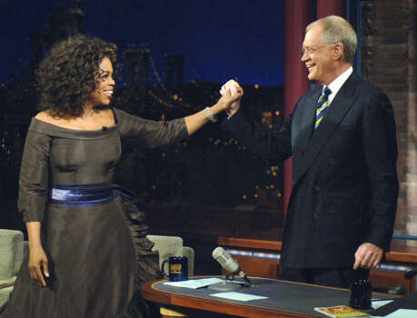 David Letterman vs. Oprah Winfrey: In 1989, after appearing on Letterman, Oprah said she would never do that again because she felt like he made her the butt of his jokes. Letterman subsequently made fun of her for 15 years. In 2005, they made ammends. Photo: JEFFREY R STAAB, AP