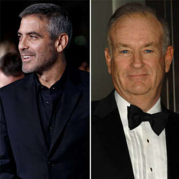 George Clooney vs. Bill O'Reilly: George hosted a charity event that raised money for families of victims of 9-11. Bill questioned where that money was actually going and that George was more concerned with his own image than the families. In 2004, history repeated itself. Clooney was raising money for the victims of the Indonesian tsunami. Bill again questioned where the money was going. So this time Clooney invited him to participate. When O'Reilly realized the money was going to the Red Cross, he accepted.