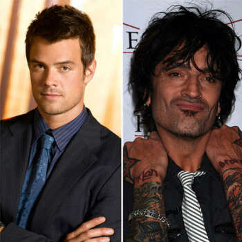 Josh Duhamel vs. Tommy Lee: In a Hollywood nightclub, Duhamel began pounding on the bathroom for the slow poke to come out. Inside was Tommy Lee. Josh said that Tommy came out and punched him. Tommy said he just gently pushed him aside.