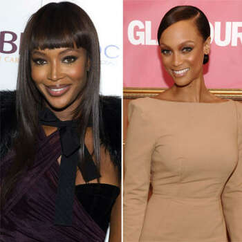 Naomi Campbell vs. Tyra Banks: Naomi ruled the runway when Tyra showed up. The press told Naomi to move over and make room for the younger model. Naomi didn't respond too well. After 14 years of name-calling, Tyra invited Naomi on her talk show.