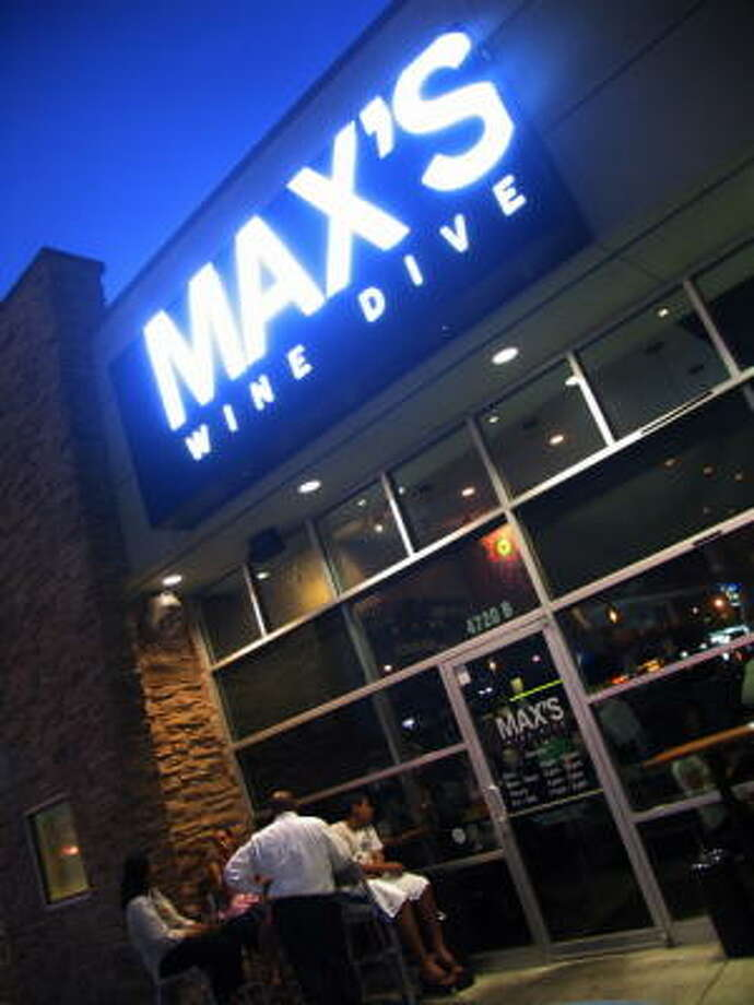 Max's Wine Dive is located at 4720 Washington Ave. Photo: Jordan Graber, For The Chronicle