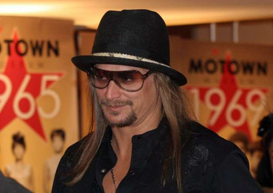 Kid Rock, aka Robert James Ritchie Photo: Jerry S. Mendoza, AP