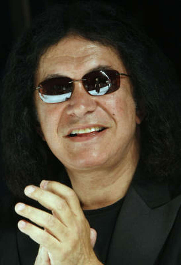 Gene Simmons, aka Chaim Witz Photo: Michael Buckner, Getty Images For IMG