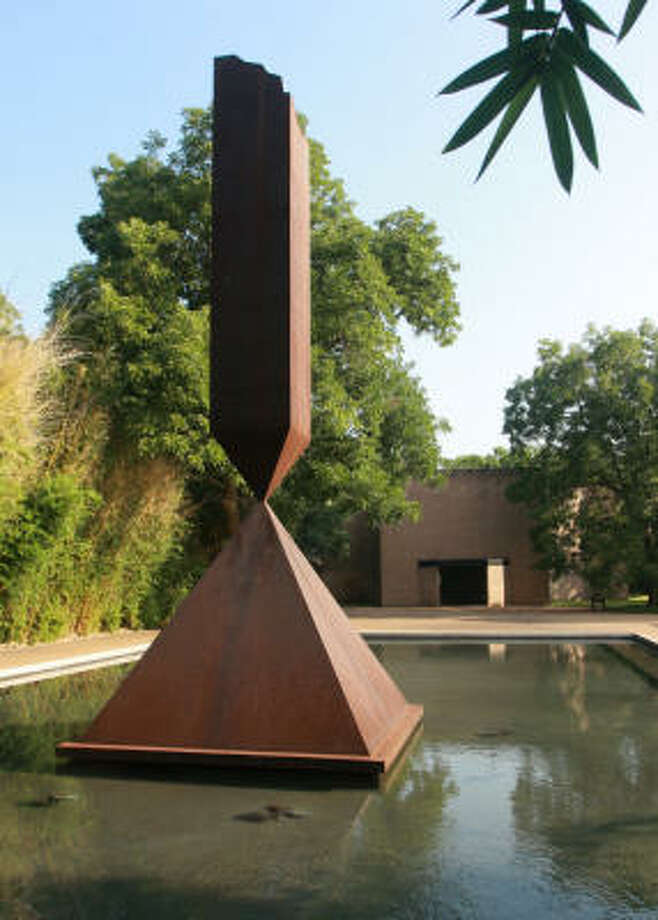 The  Rothko Chapel, dedicated in 1971, houses 14 paintings by abstract expressionist Mark Rothko. It serves as a sanctuary available to people of every belief. Photo: Gary Fountain, For The Chronicle