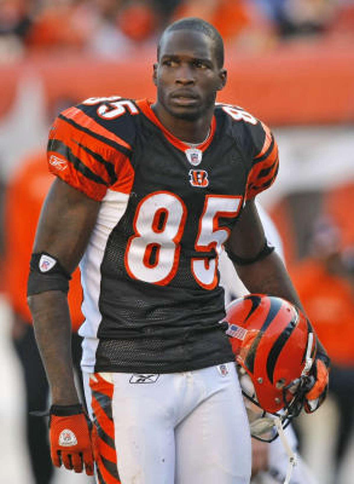 Chad Ochocinco, Cincinnati Bengals receiver @OGOchoCinco: