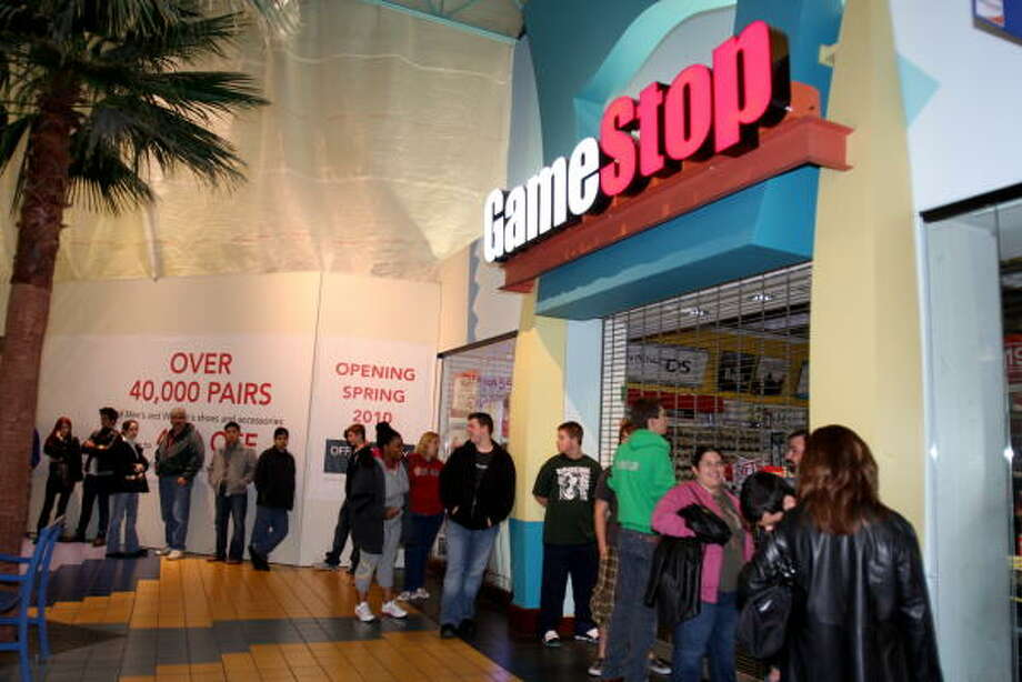 Here are hours for San Antonio-area stores and malls on Black Friday.GameStop: 5 a.m. to 9 p.m. for most locations Photo: Suzanne Rehak, For The Chronicle