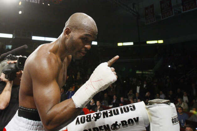 Hopkins, who turns 45 on Jan. 15, still has beating British heavyweight David Haye next year and eventually retiring as heavyweight champion at the top of his 2010 to-do list. Photo: Matt Slocum, AP
