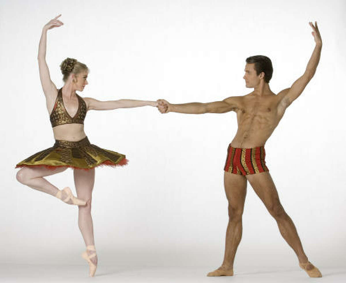 With Nick Leschke in a promotional pose for Tutu.