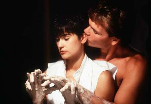 Demi Moore and Patrick Swayze in Ghost. Photo: Associated Press