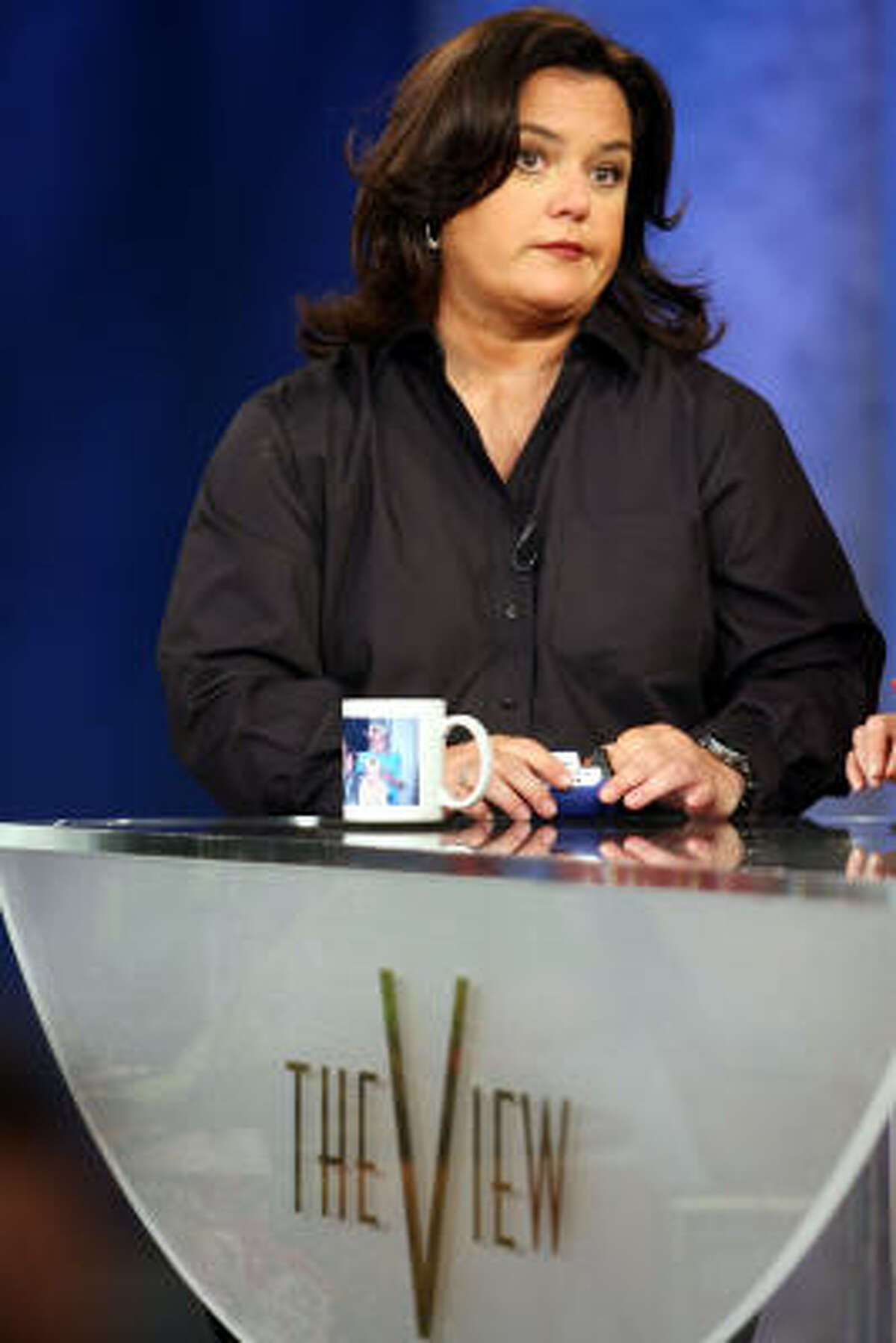 Rosie O'Donnell vs. the world. The queen of nice became fierce when it came to politics and the Iraq War. She and Elisabeth Hasselbeck went after each other. Shortly after she walked away from The View.