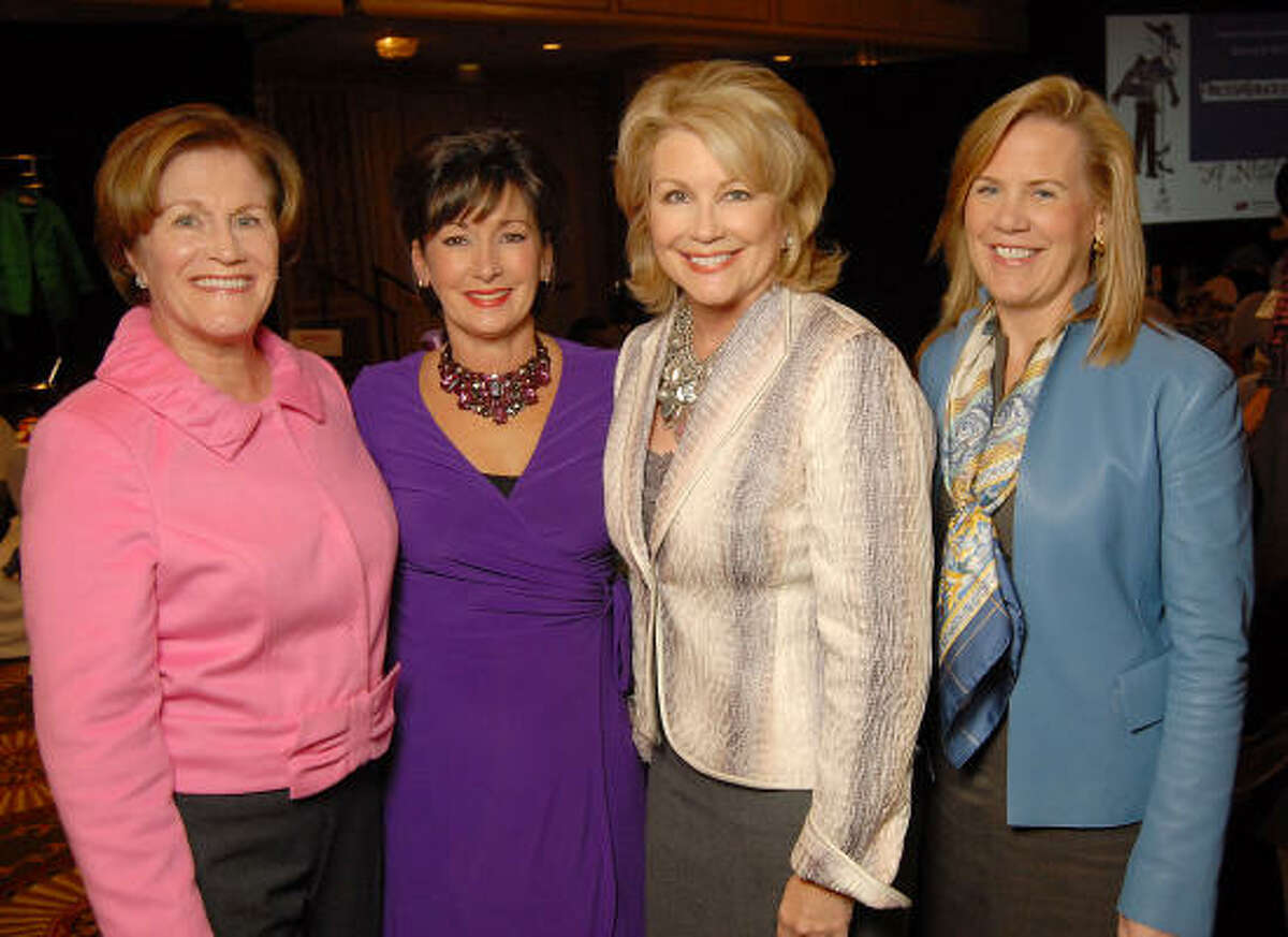From left: Nancy Levicki, Cathy Cleary, Jan Carson and Liz Crowell
