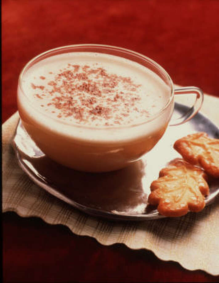 This is probably one of the worst for you. Eggnog comes in at a whopping 200+ calories per cup.  Photo: No Info