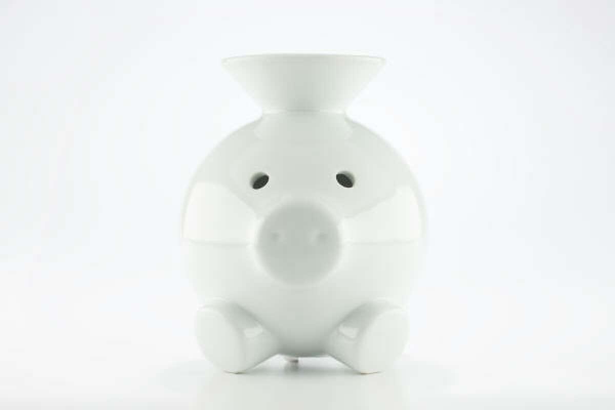Coink piggy bank, $42, Kuhl-Linscomb