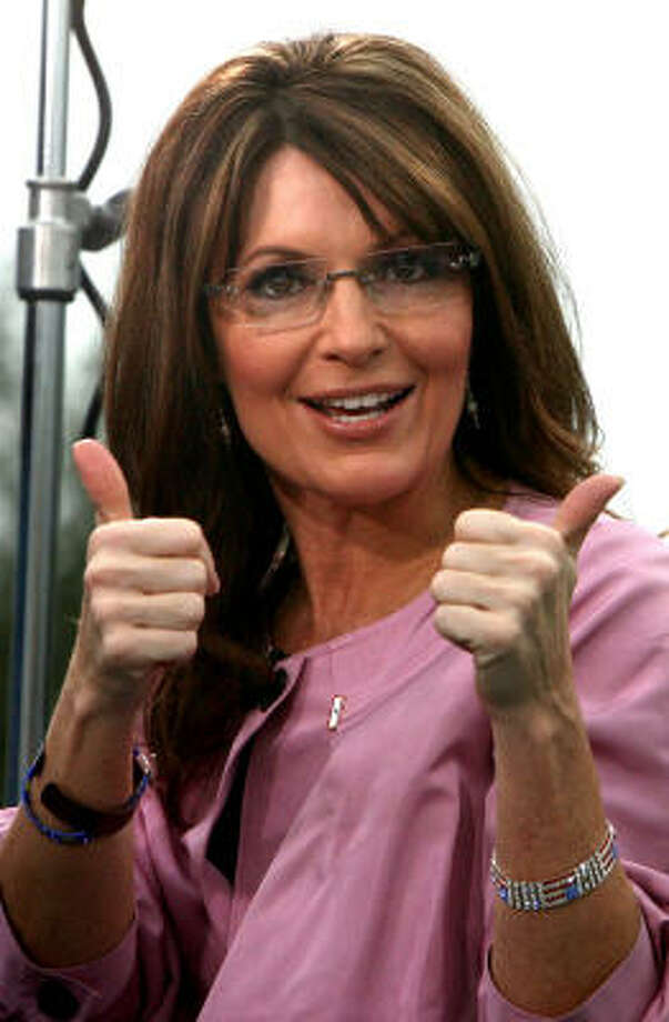 "Sarah Palin:McCain aides accused her of ""going rogue"" during the 2008 election. Palin used the term as the title of her new memoir, Going Rogue. Photo: Joe Burbank, MCT"