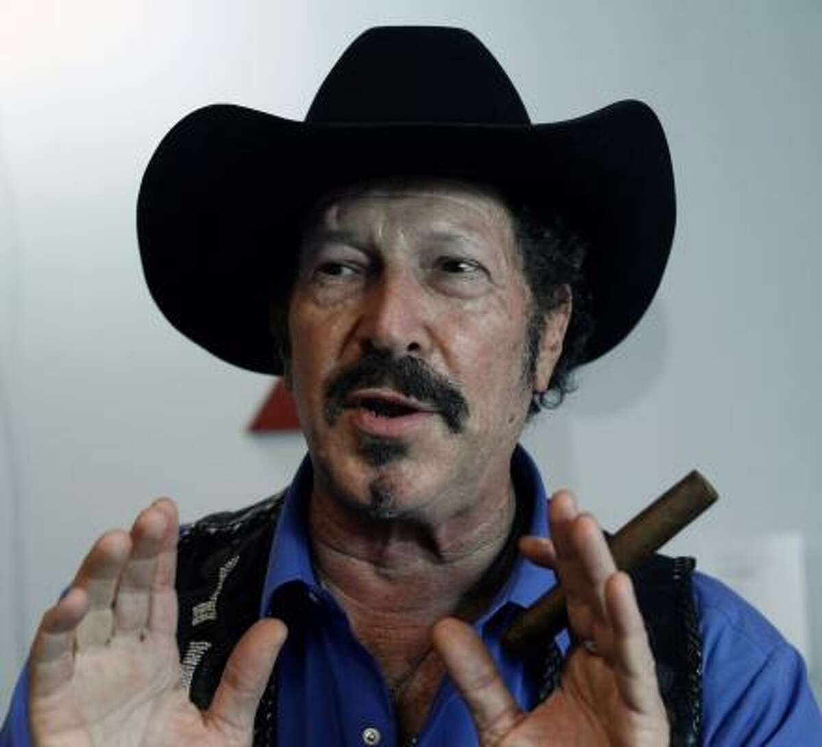 Kinky Friedman: Talk about marching to your own drummer. Friedman is a politician, humorist, author, singer, songwriter and former candidate for Governor of Texas.