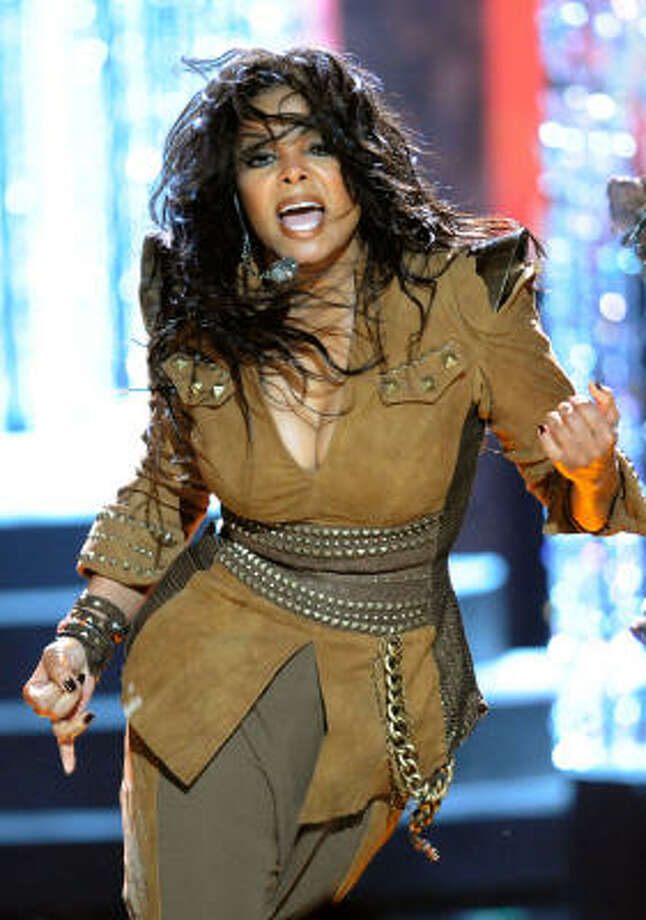 Janet Jackson performs at the American Music Awards. See who else was there. Photo: Kevork Djansezian, Getty Images