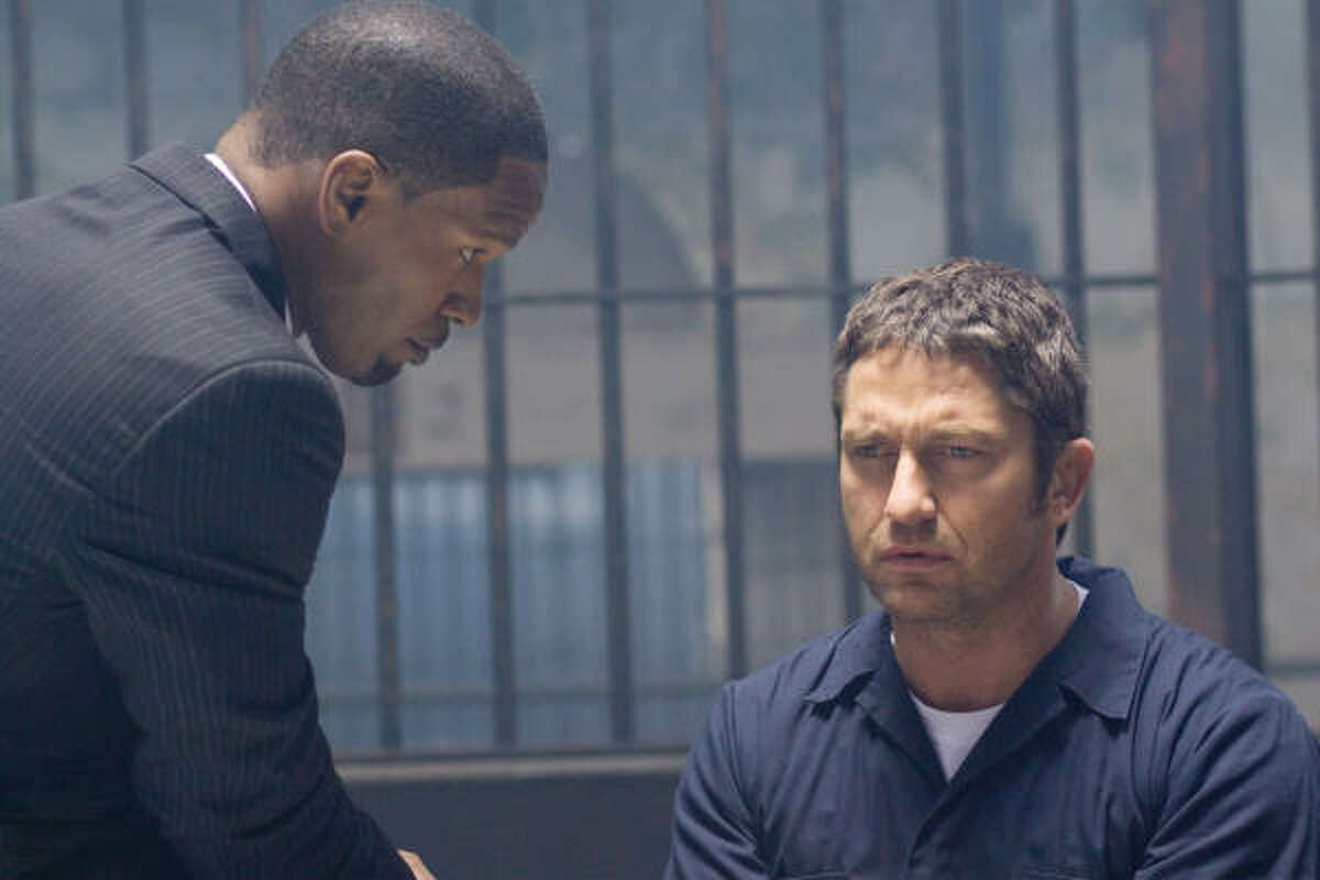 Law Abiding Citizen , $xx million An everyday guy decides to take justice into his own hands after a plea bargain sets his family's killers free.