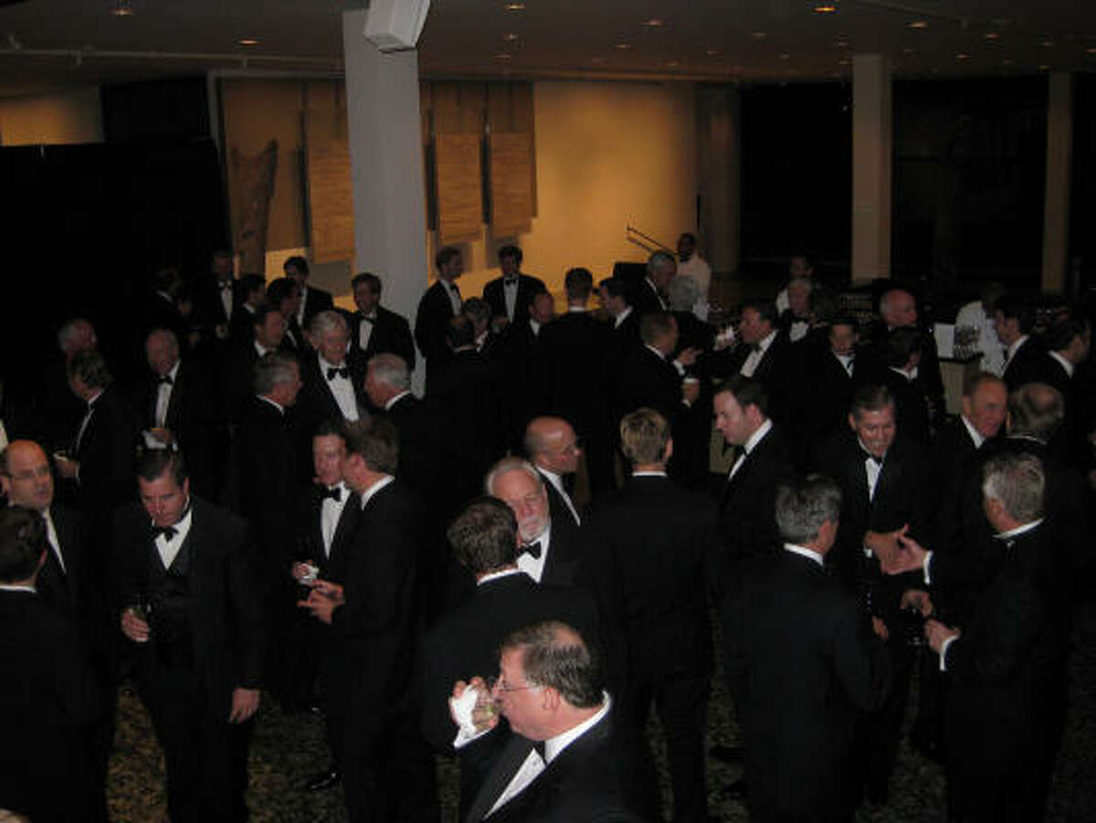 Nearly 250 men attended the Museum of Fine Arts, Houston's One Great Night in November fundraiser on Nov. 4. The event grossed almost $740,000 for the MFAH.